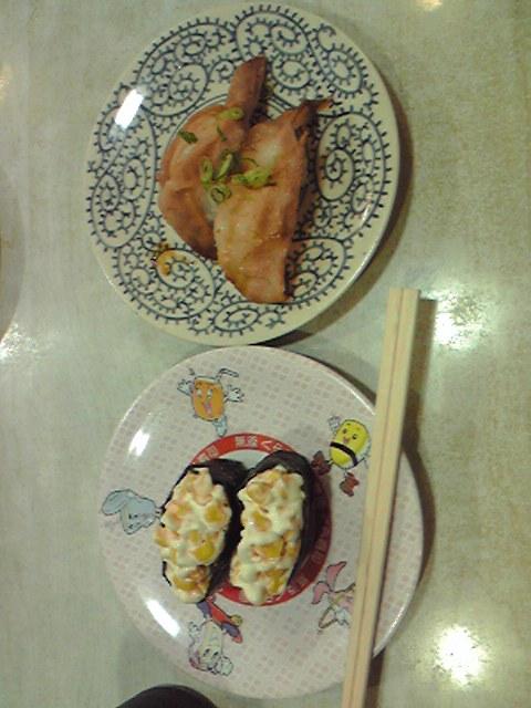 久しぶりに回転寿司